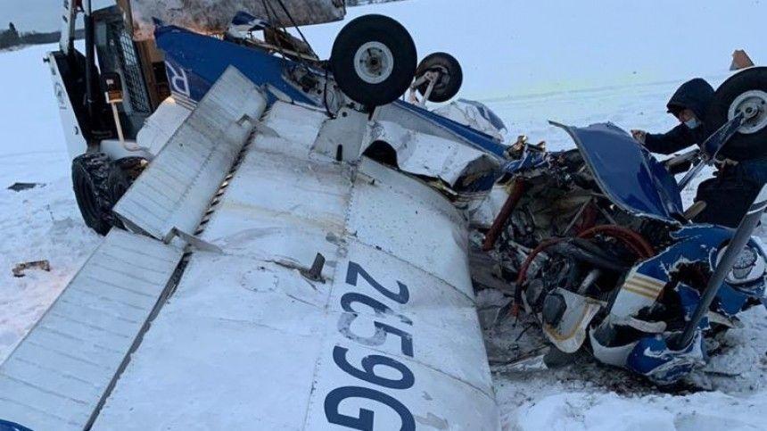 СК возбудил уголовное дело по факту крушения самолета в Ленобласти