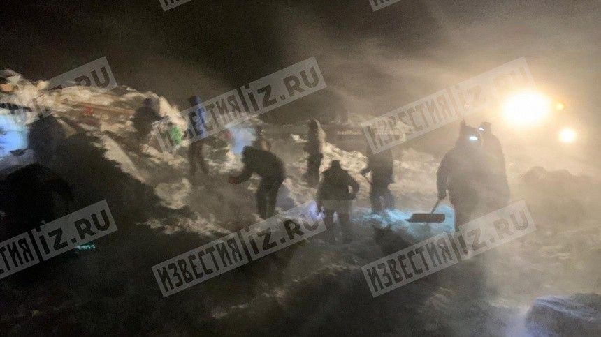 «Дома перевернуты, деревья вырваны»: Очевидцы о сходе лавины под Красноярском