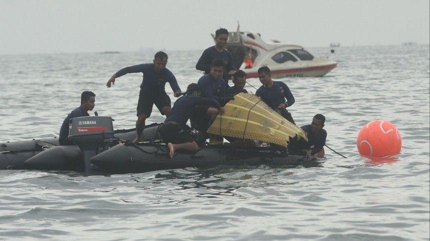 Названа возможная причина крушения индонезийского Boeing в Яванском море