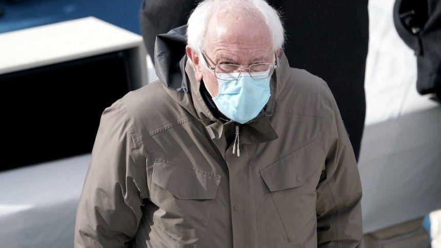 «Тепло тебе, Берни?»: фото Сандерса в варежках с инаугурации Байдена стало мемом