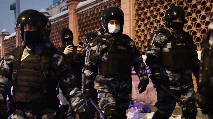 Все подростки, задержанные на несогласованной акции в Москве, отпущены