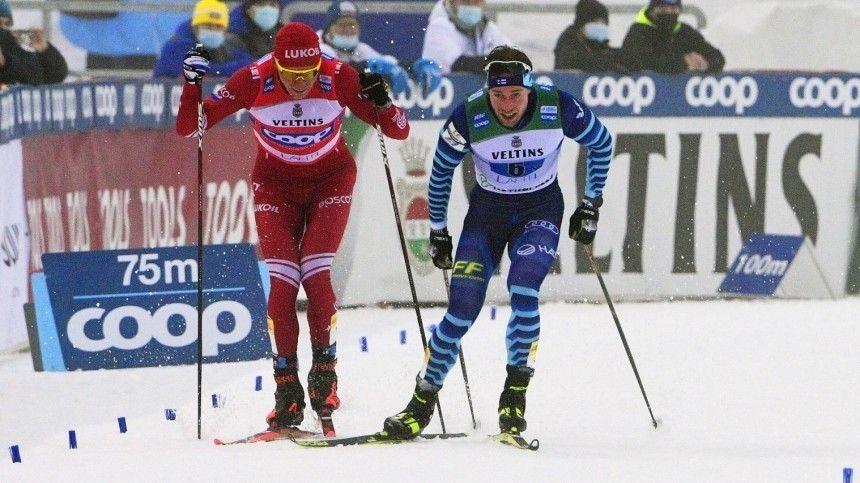 «Повезло, что не биатлон»: как финны оценили таран Болшуновым своего лыжника