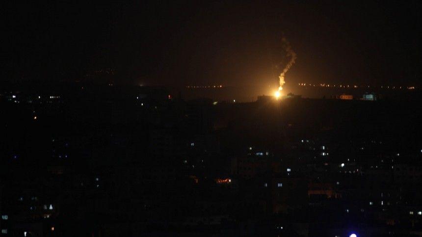 Армия Сирии сообщила о ракетном ударе со стороны Израиля