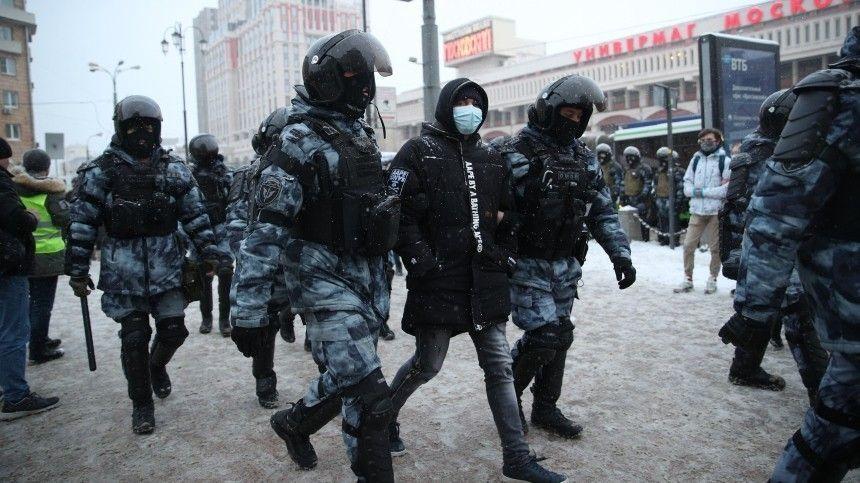 В Кремле заявили об отсутствии репрессий в ситуации с незаконными акциями