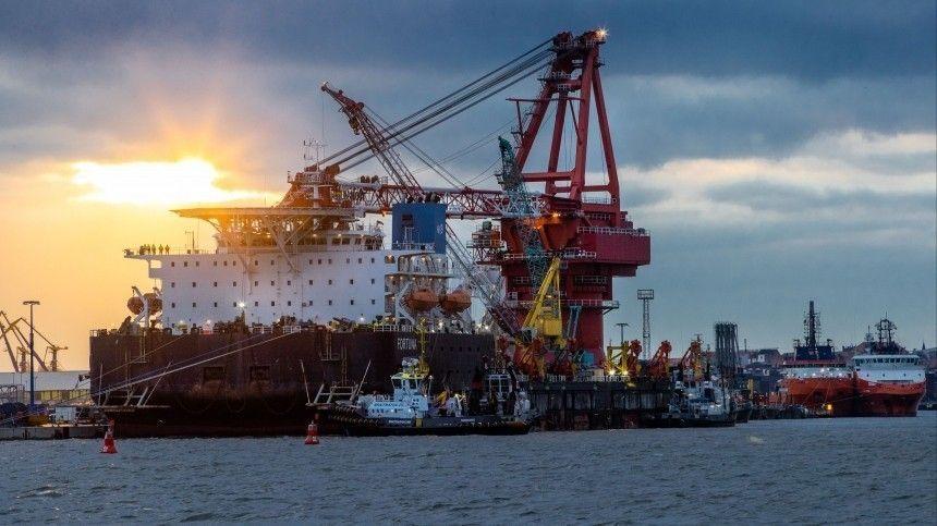 Названы сроки завершения строительства «Северного потока — 2» в водах Дании
