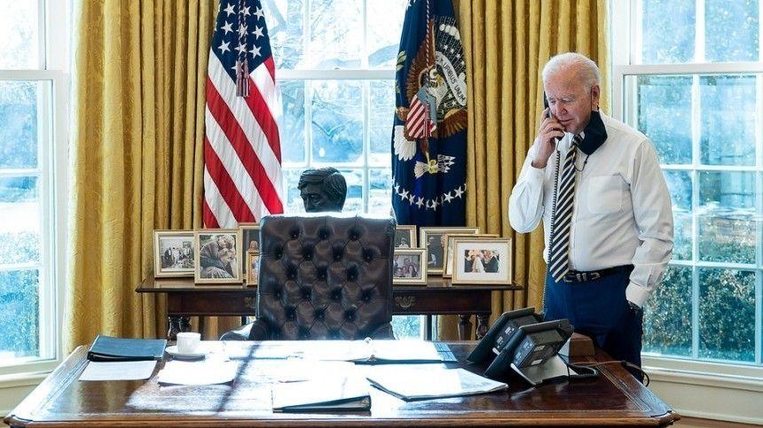 Президент США Байден провел телефонный разговор с Си Цзиньпином