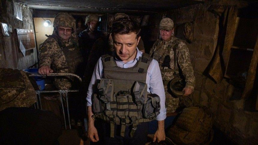 Зеленский с послами G7 прибыл в Донбасс для переговоров с военными