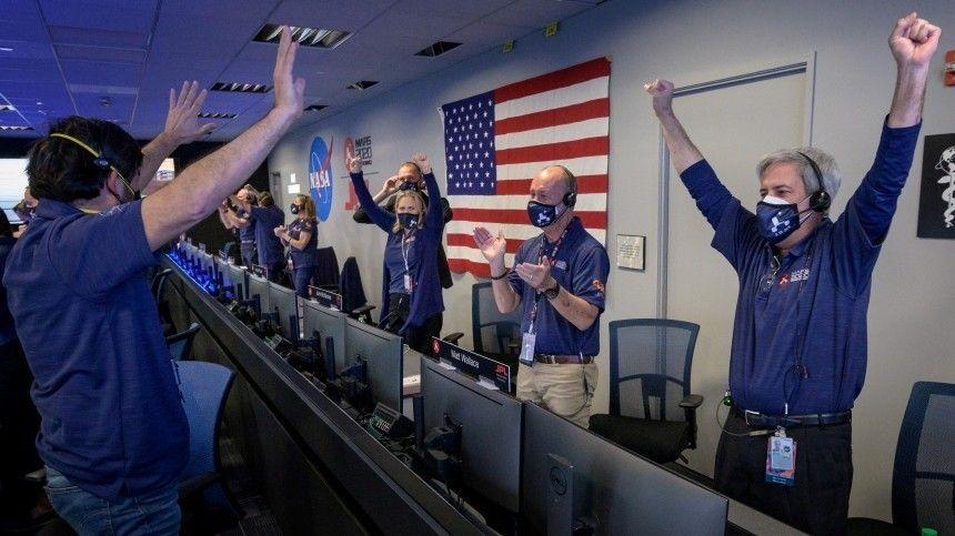 В Кремле назвали «важной для человечества» высадку на Марс аппарата Perseverance