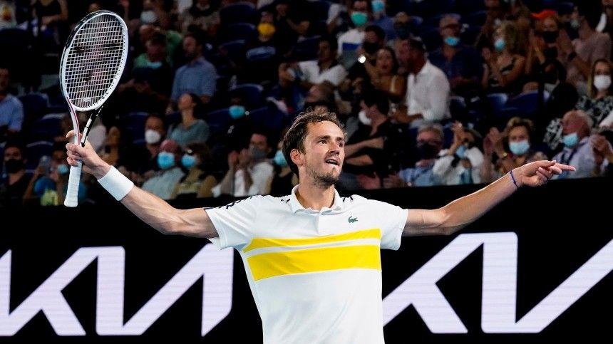 Россиянин Даниил Медведев вышел в финал Australian Open
