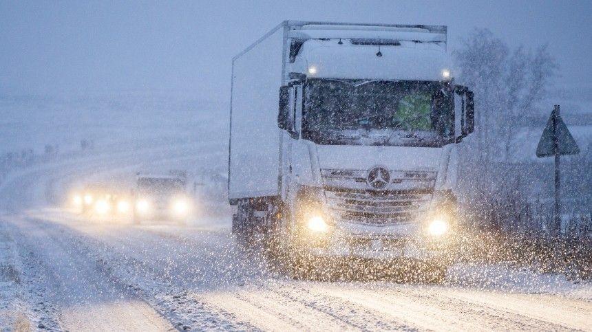 Репортаж из снежного плена: группа МИЦ «Известия» заблокирована на трассе «Таврида»