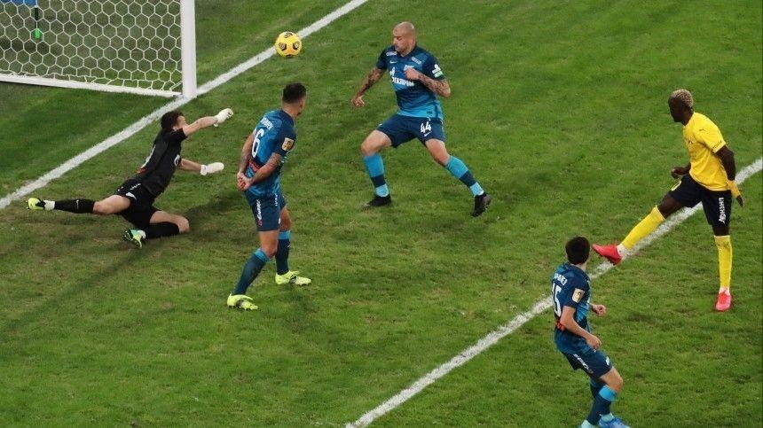 «Зенит» не смог переиграть «Ростов» в матче 20-го тура РПЛ