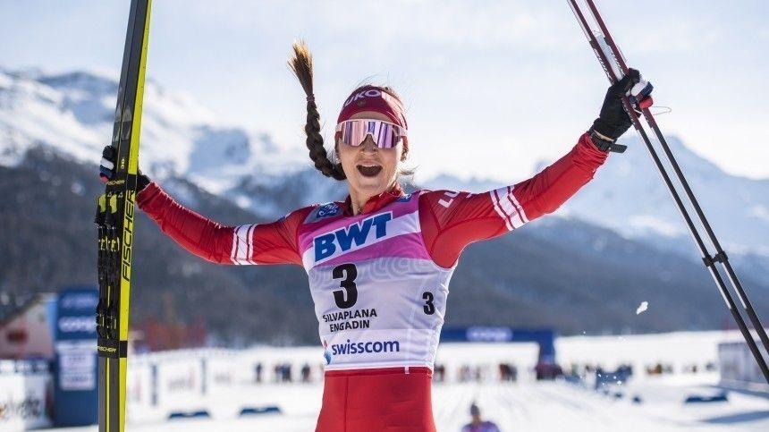 Юлия Ступак победила в масс-старте на финальном этапе Кубка мира