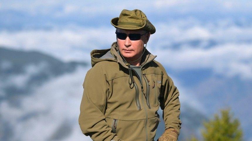 Владимир Путин проведет ближайшие выходные в тайге