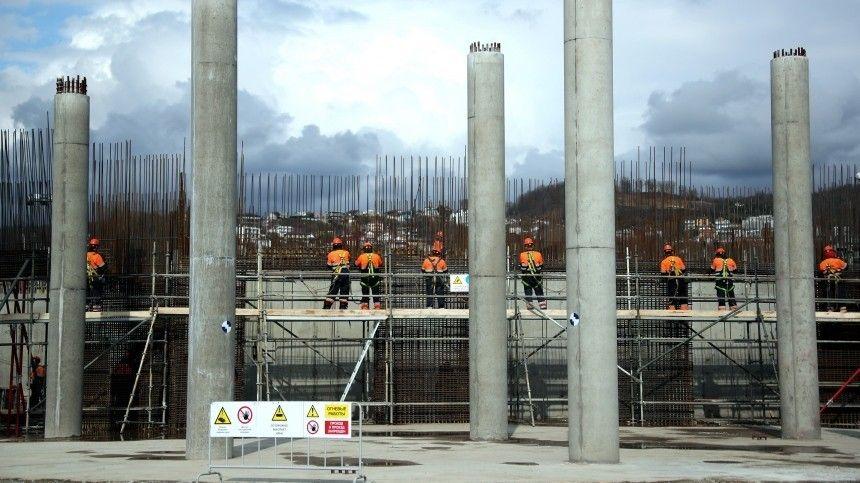 На площадке «Сириуса» началось строительство концертного зала мирового уровня
