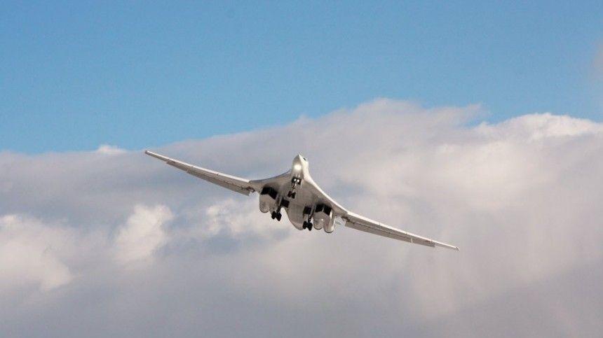 Британские истребители пытались перехватить российский Ту-160 над Северным морем