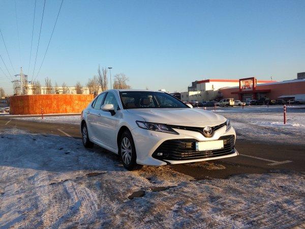 Развалилась за зиму? Как Toyota Camry XV70 переживает холодное время года