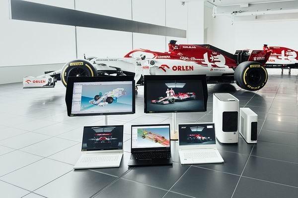 Acer включился в «гонки данных» болидов «Формулы-1»