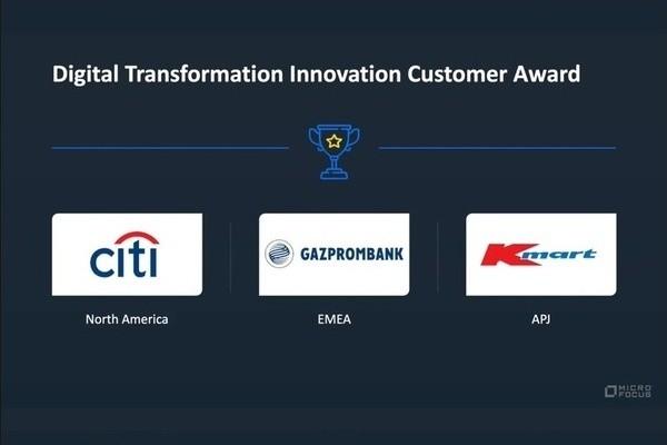 «Газпромбанк» удостоен престижной награды Micro Focus за инновации в области цифровой трансформации