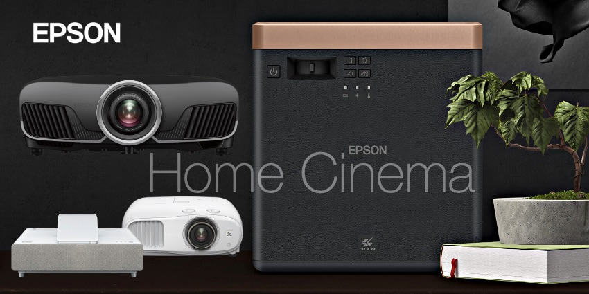 Новые проекторы Epson для домашних кинотеатров с голосовым управлением и смарт-ТВ возможностями