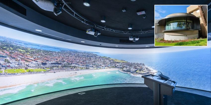 Лазерные проекторы Epson с ультракороткофокусными объективами становятся главным инструментом в учебных аудиториях с 360°-проекцией