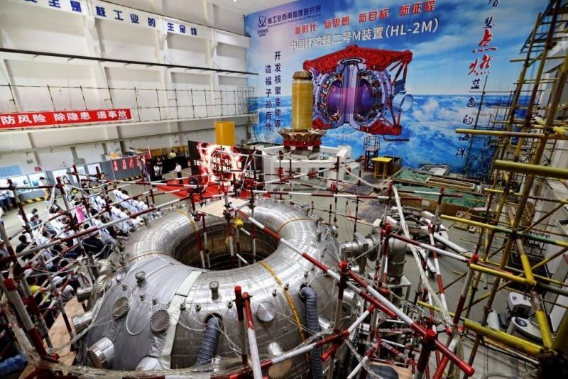В Китае запустили 'искусственное солнце'
