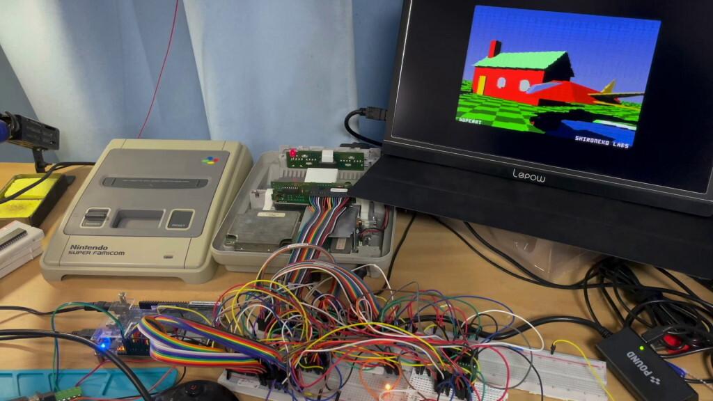В старую консоль на картриджах внедрили графику в стиле NVIDIA RTX