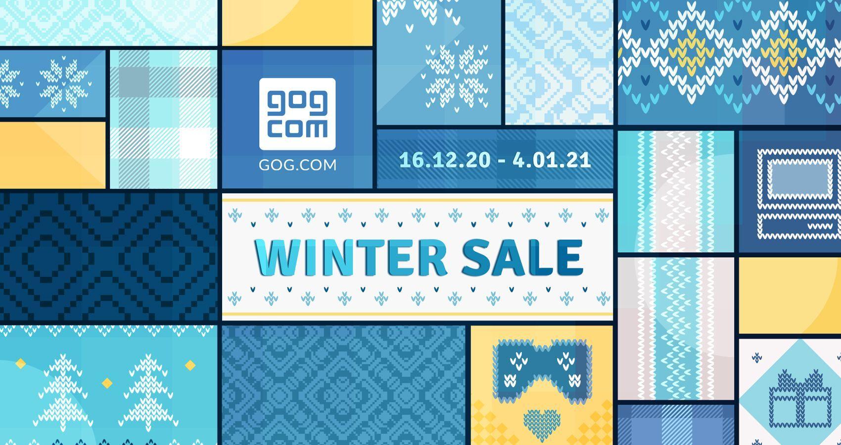 GOG запустил зимнюю распродажу игр со скидками до 91%