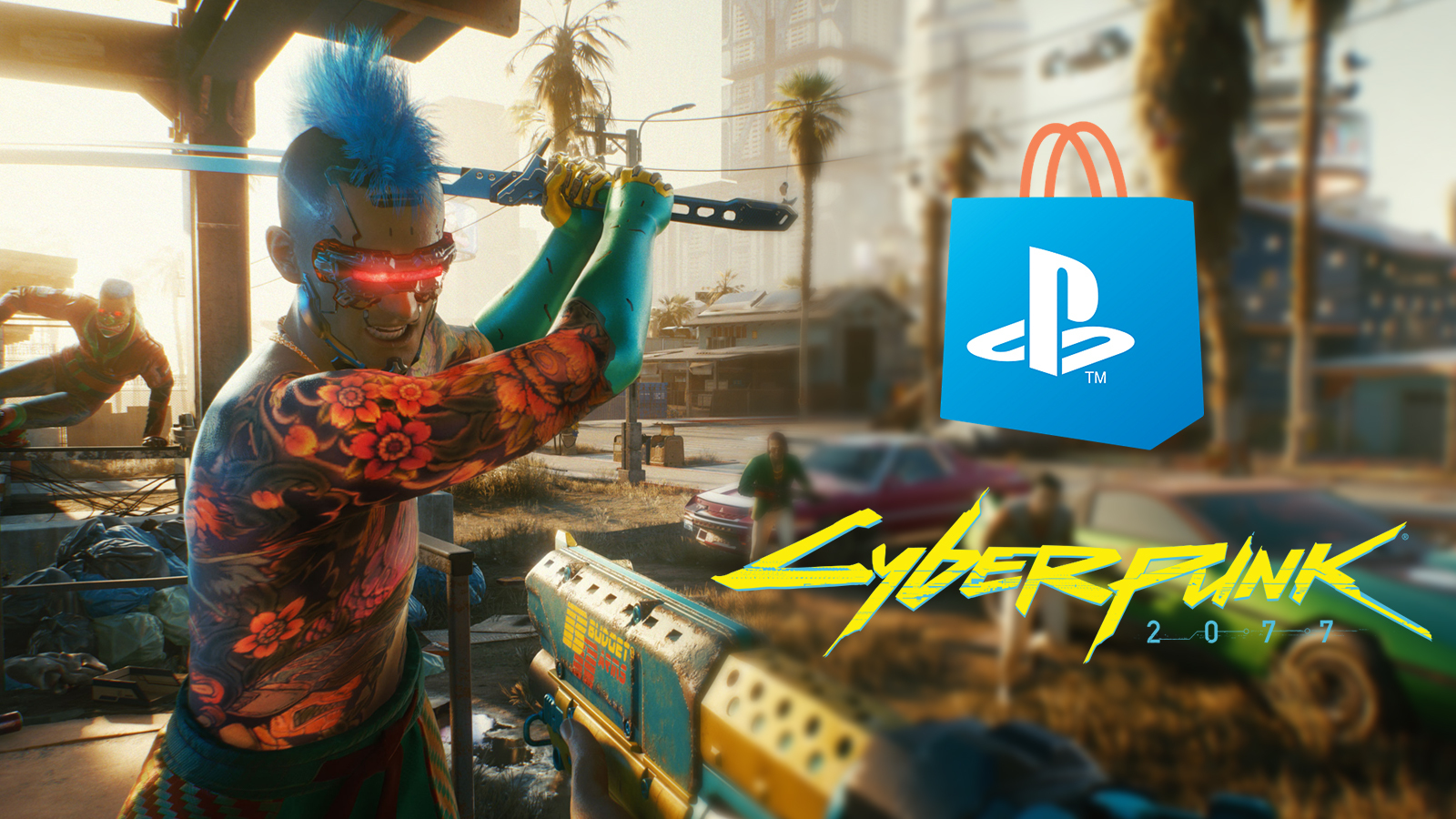 Cyberpunk 2077 удалили из онлайн-магазина PlayStation из-за жалоб игроков