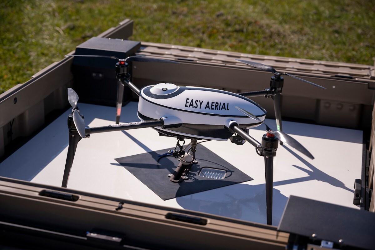 Военную базу США стали охранять дроны-сторожа