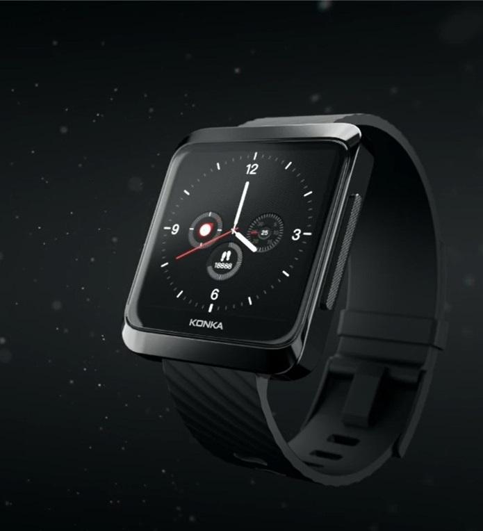 Анонсированы первые в мире 'умные' часы с MicroLED экраном