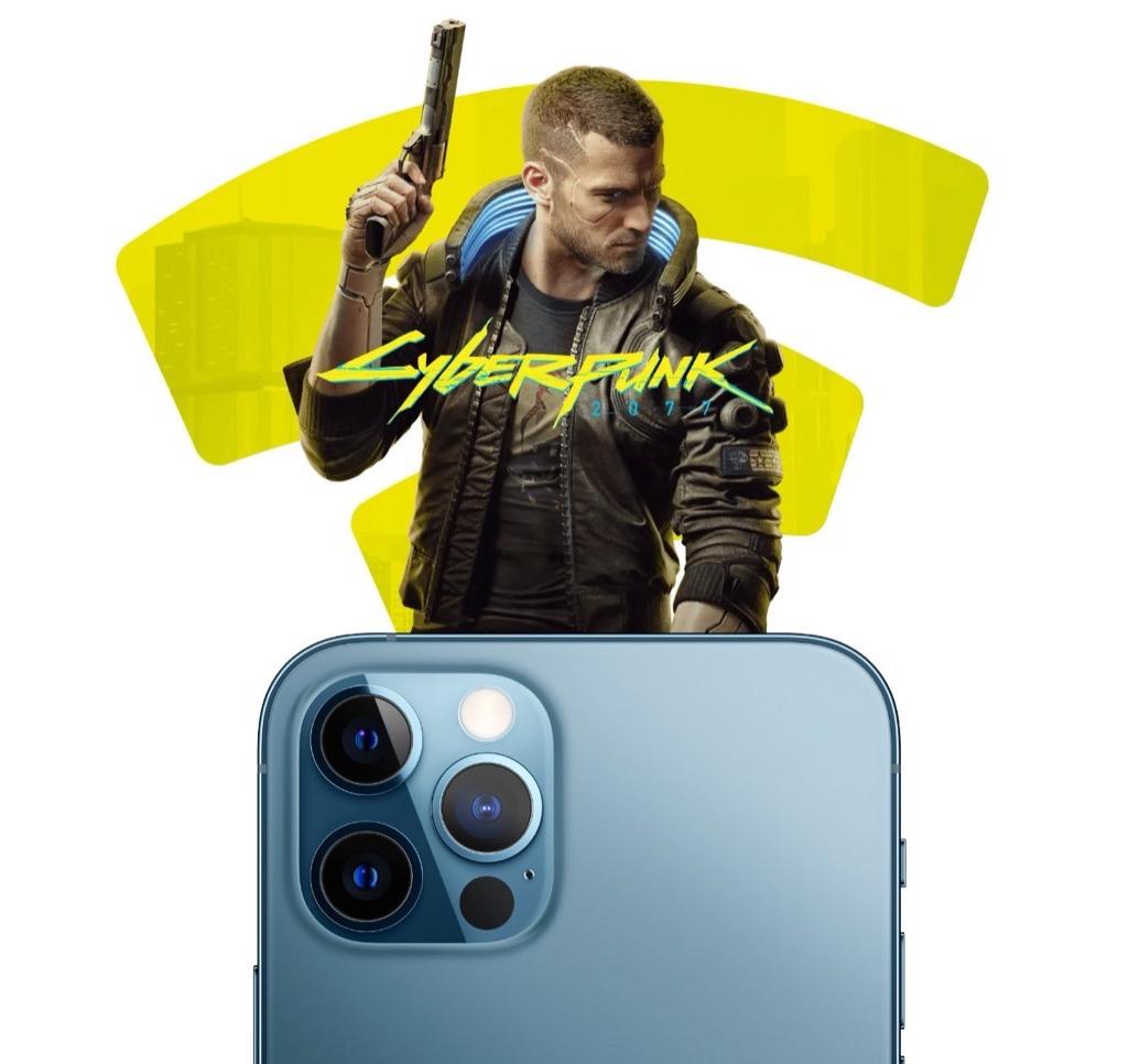 Cyberpunk 2077 работает на iPhone и iPad лучше, чем на PlayStation 4