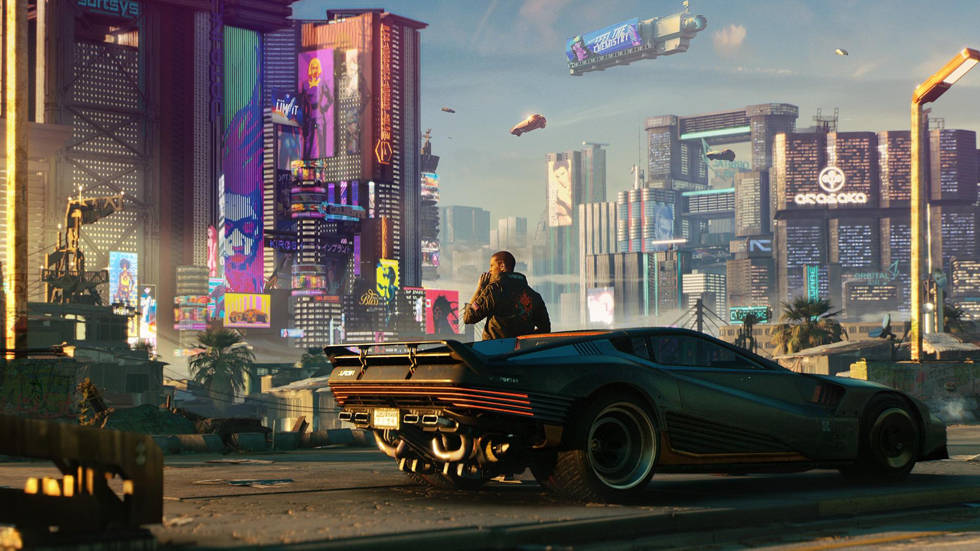 Энтузиасты выпустили мод для Cyberpunk 2077, улучшающий графику