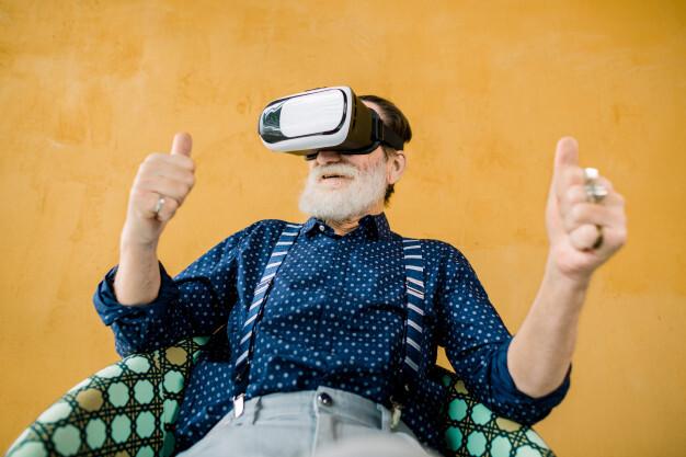 Ученые смогли излечить апатию у пожилых людей с помощью виртуальной реальности
