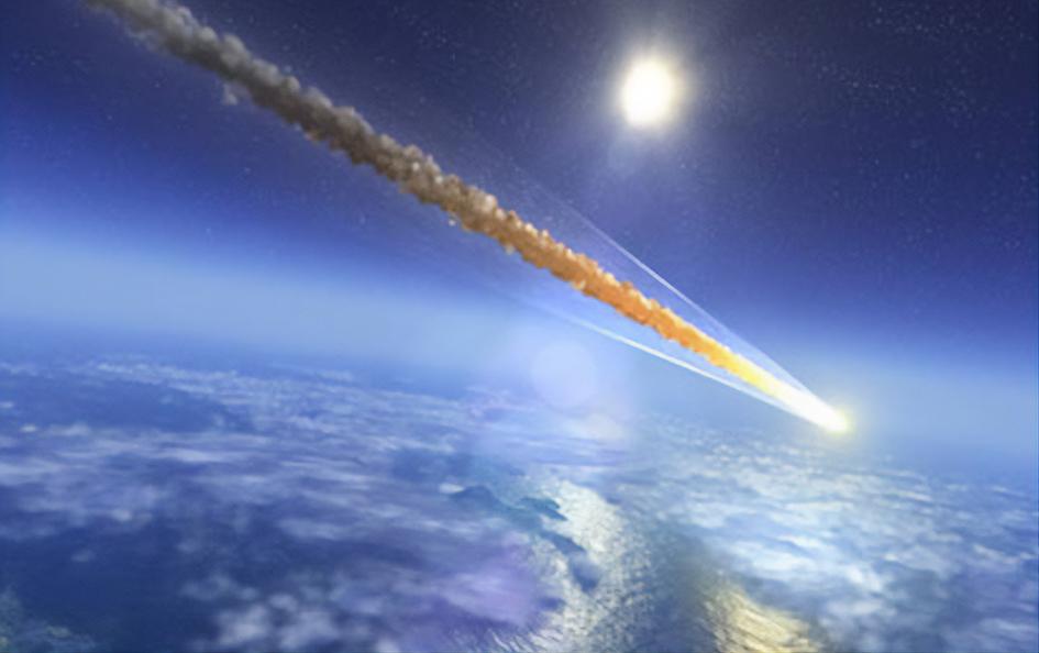 Опубликовано видео с падением метеорита в Китае