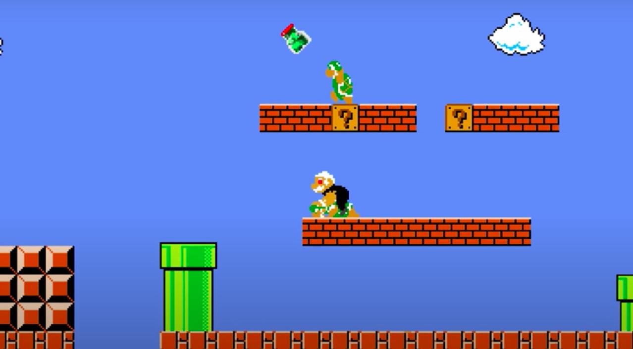 Якубовича перенесли в игру «Марио» в новом видео