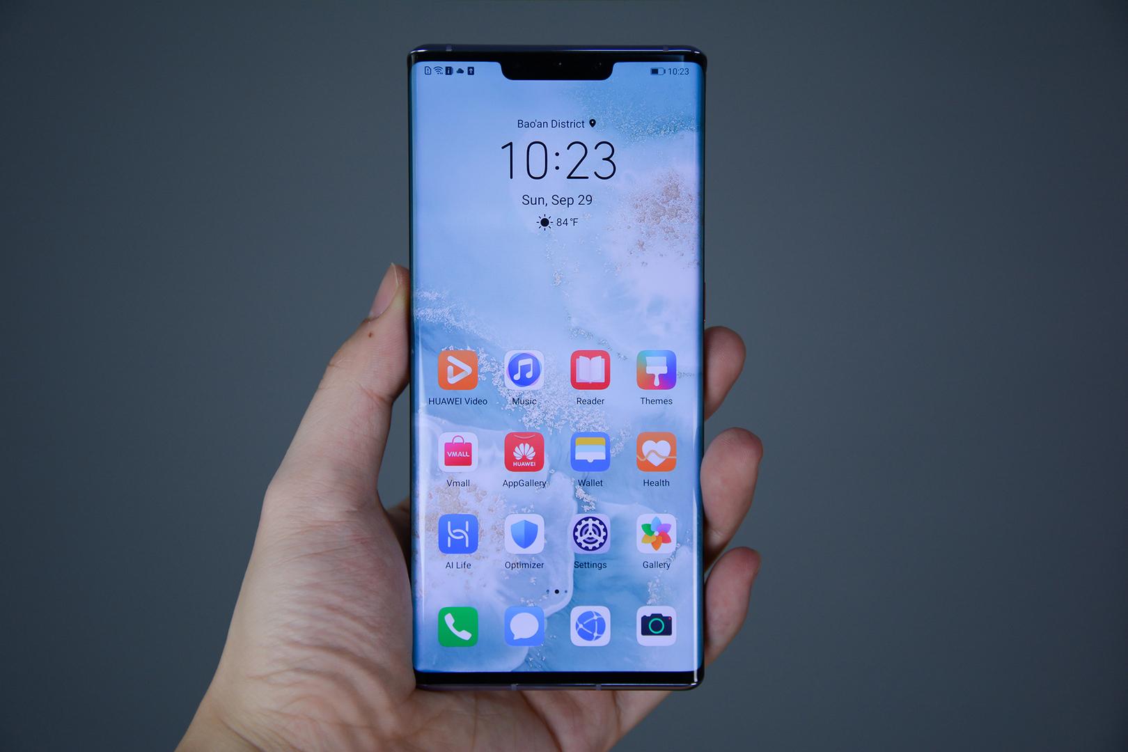 Работа замены Android для смартфонов Huawei показана на видео