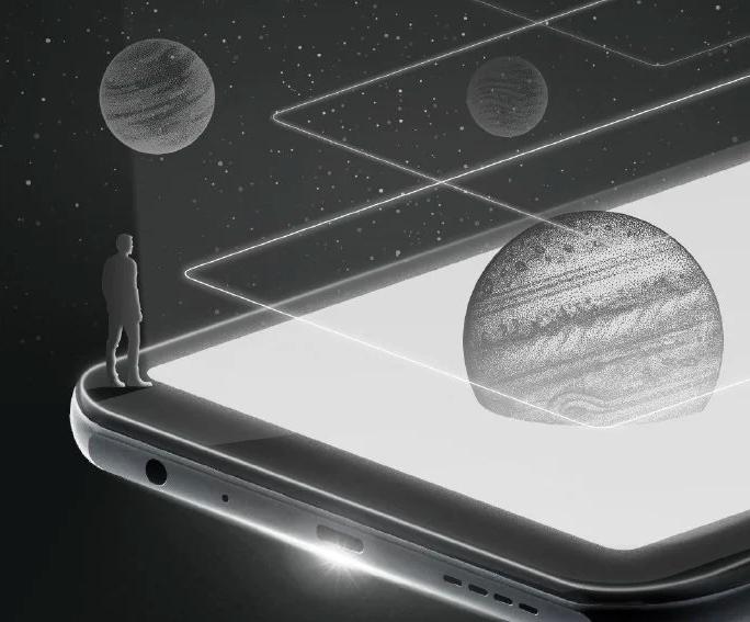 К выпуску готовится смартфон с экономичным чёрно-белым экраном и 5G