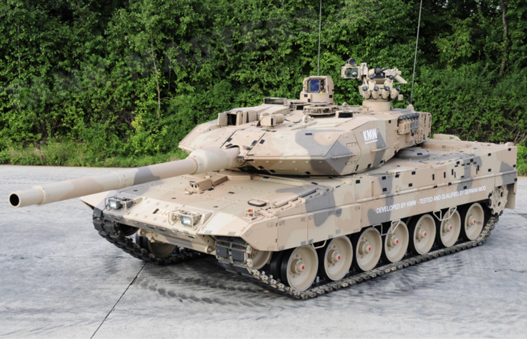 Немецкие танки потеряют в скорости и проходимости из-за новой системы защиты