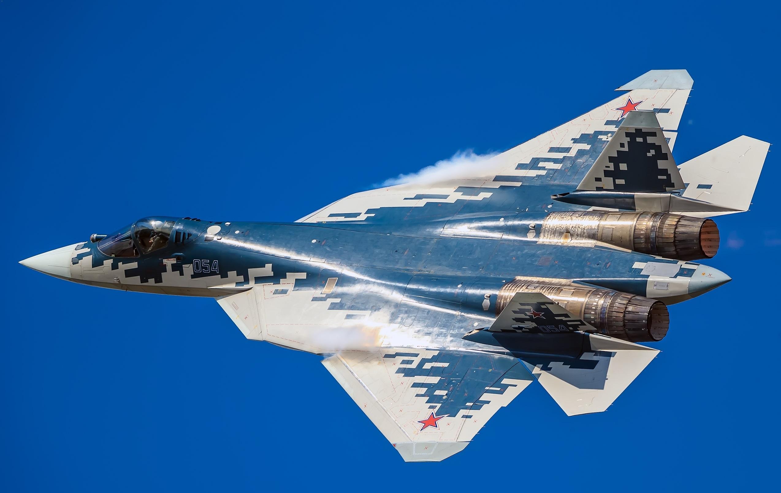 В США признали мощность нового двигателя для Су-57