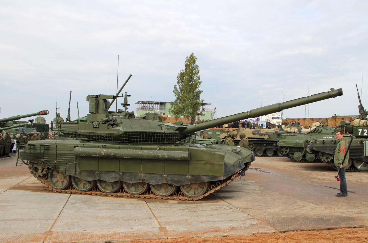 Российские танки научились обмениваться данными на поле боя через интернет