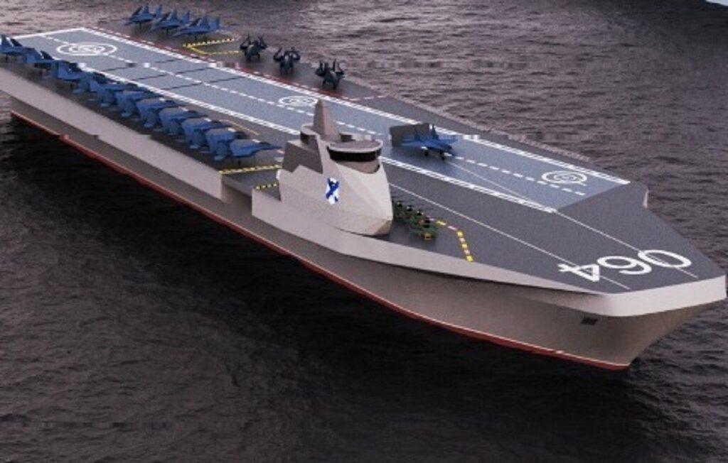 Рассекречены первые подробности о российском авианосце будущего