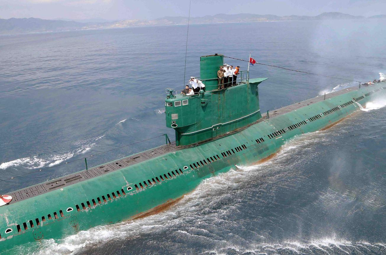 Северная Корея разработала новую ядерную подлодку