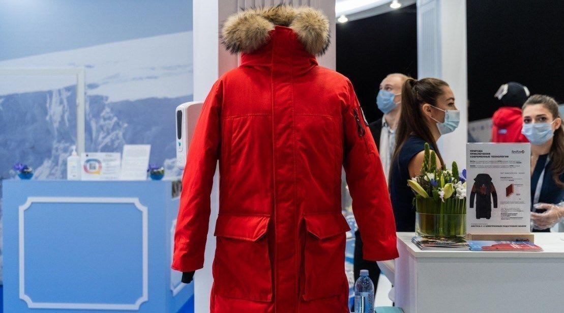 В России создали способную выдержать -70°С куртку с электроникой