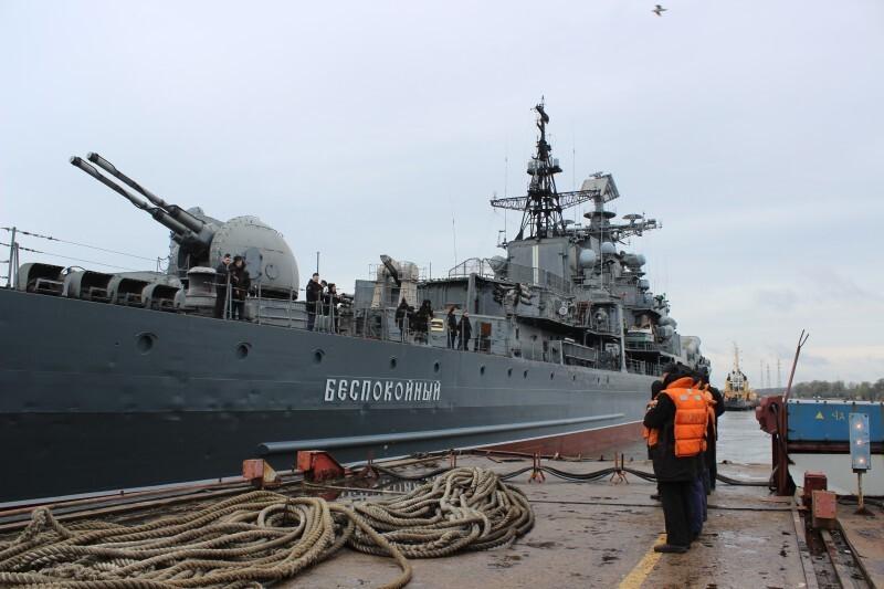 Экс-эсминец Балтийского флота «Беспокойный» обокрали на 39 млн рублей