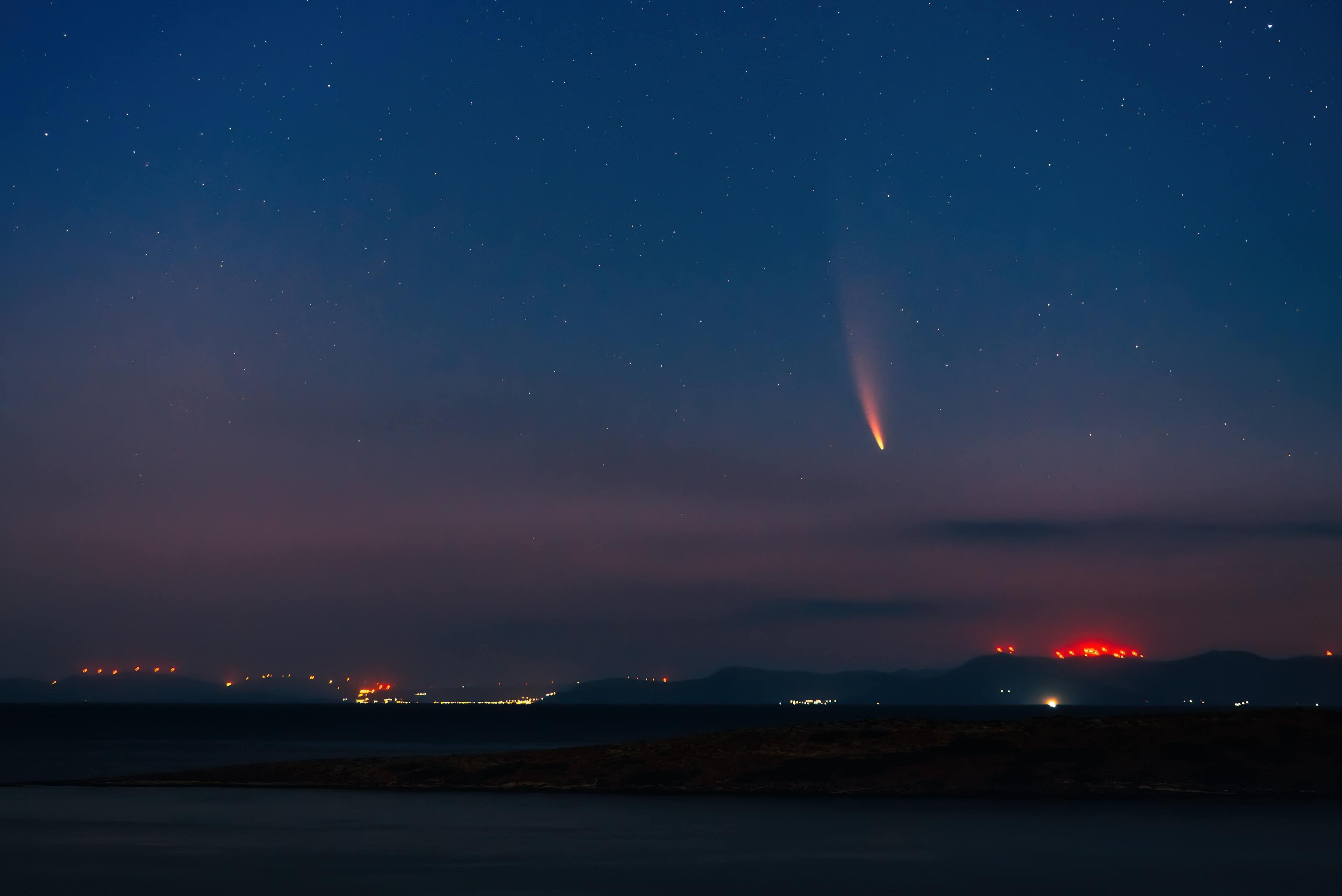 На видео показали метеор над Камчаткой