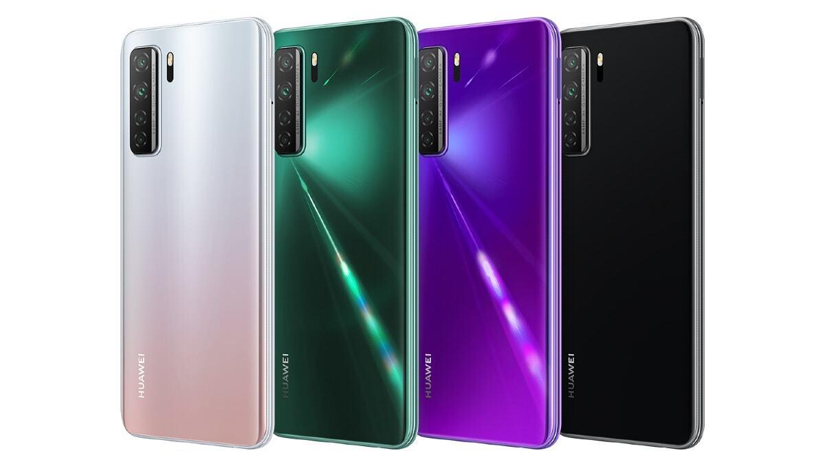 Huawei анонсировала недорогой 5G-смартфон серии Nova