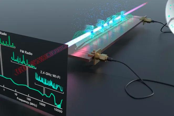 Создан квантовый датчик для обнаружения сигналов Bluetooth и Wi-Fi