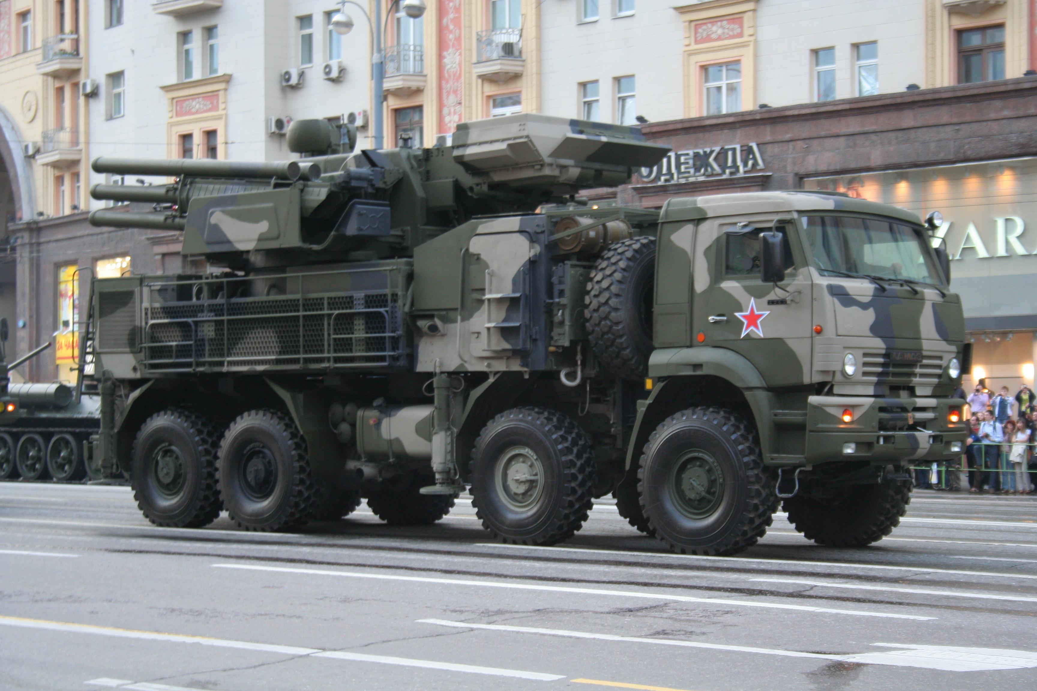 Российский ракетный комплекс отразил атаку дронов в Крыму