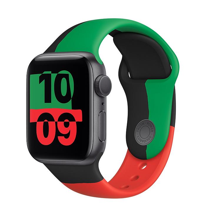 Apple выпустила специальную версию «умных» часов в поддержку движения против расизма