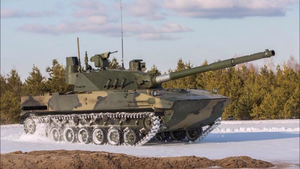 Российский плавающий танк Спрут-СДМ1 отправят в Сибирь для испытаний при низких температурах